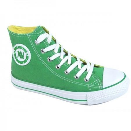 Zielone trampki 082 Green
