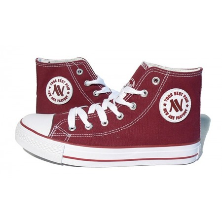 Trampki New Age 082 burgundy