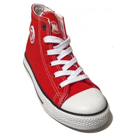 Czerwone trampki dziecięce New Age 082k red